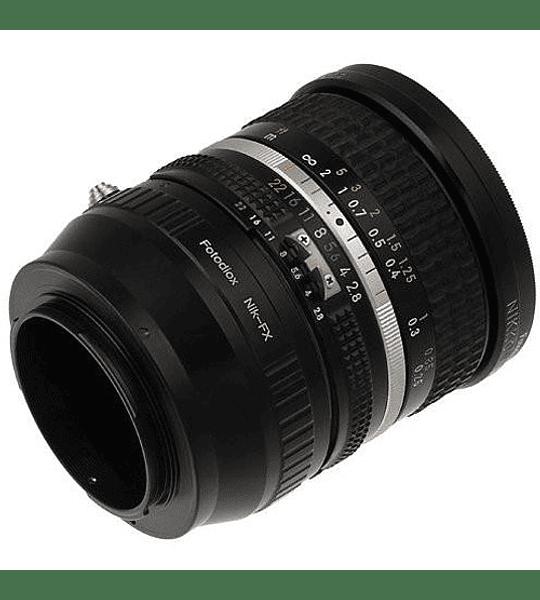 Fotodiox Nikon F a Fuji X MF