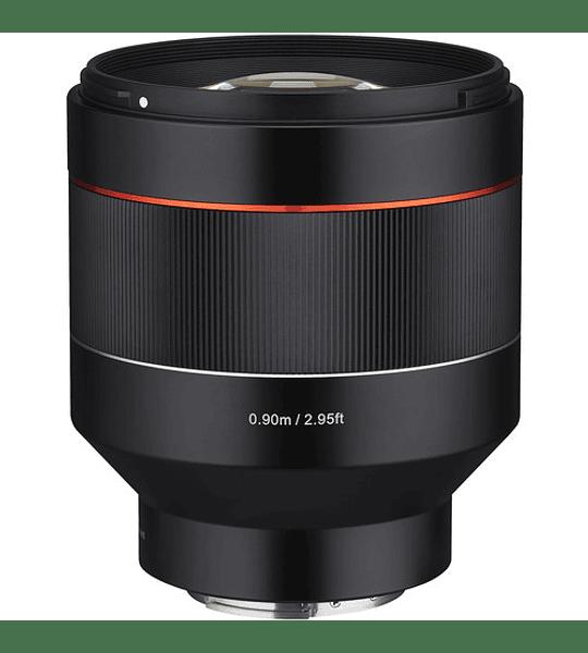 Rokinon AF 85mm f1.4 FE