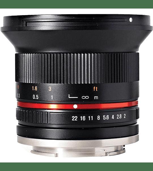 Rokinon MF 12mm f2.0