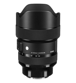 Sigma 14-24mm ART F2.8 DG DN para Mirrorless