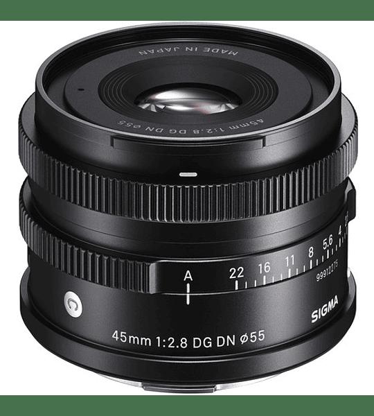 Sigma 45mm F2.8 DG DN CONT. para Mirrorless