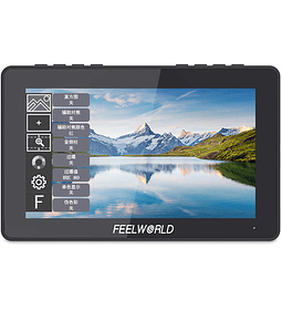 "FeelWorld F5 Pro 5.5"" 4K HDMI IPS Touchscreen Monitor"