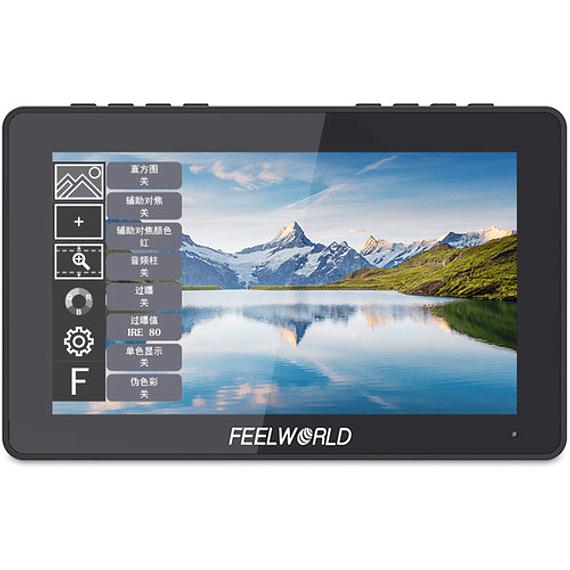 "FeelWorld F5 Pro 5.5"" 4K HDMI IPS Touchscreen Monitor"
