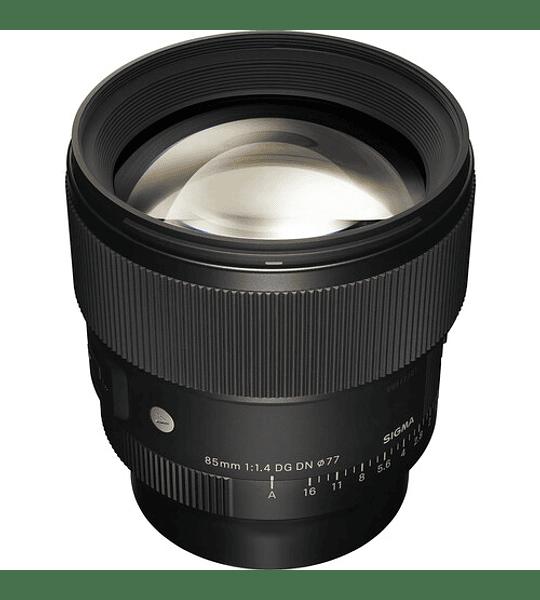 Sigma Art 85mm f / 1.4 DG DN para Sony E