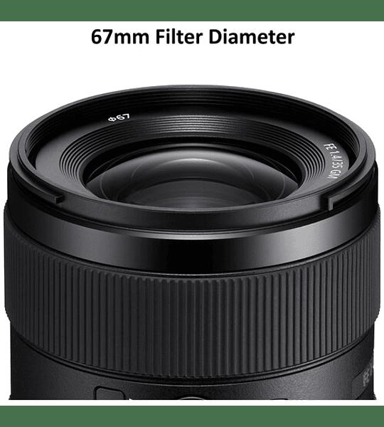 Sony FE 35mm f1.4 GM