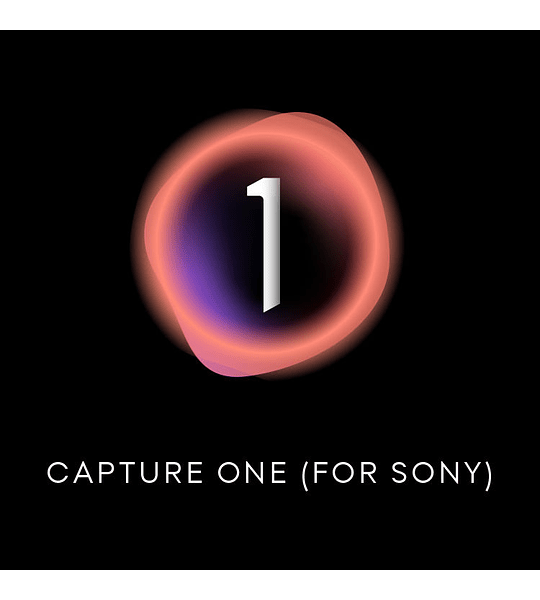 Capture One 21 for SONY -  Licencia permanente