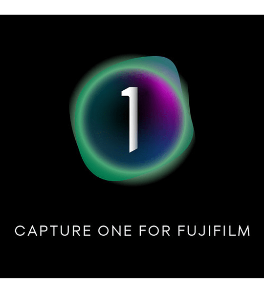 Capture One 21 for FUJI -  Licencia permanente
