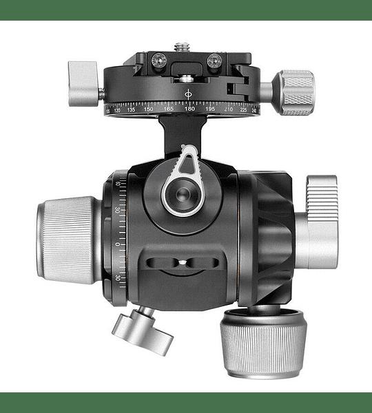 Leofoto Cabezal de Engranajes Geared G4