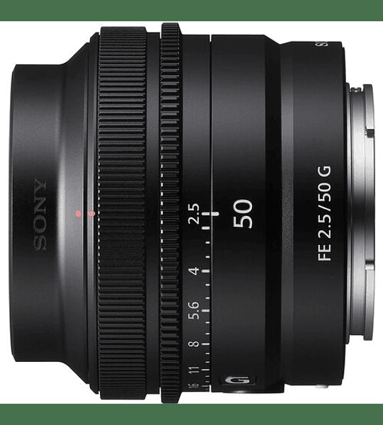 Sony FE 50mm f/2.5 G