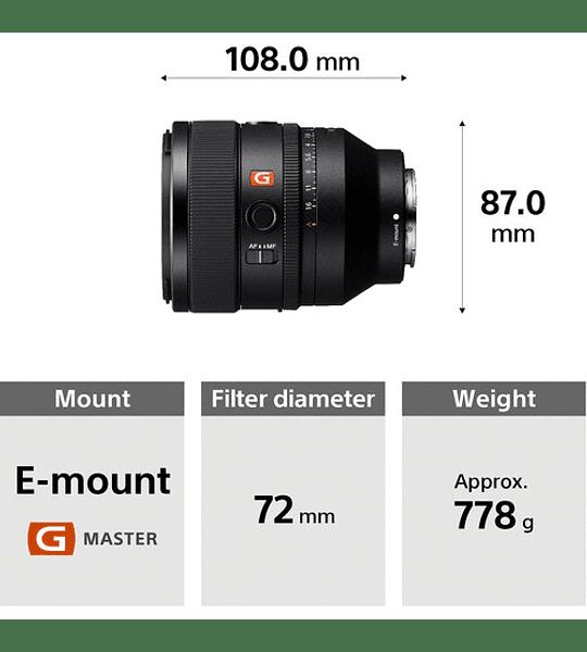 Sony FE 50mm f/1.2 GM