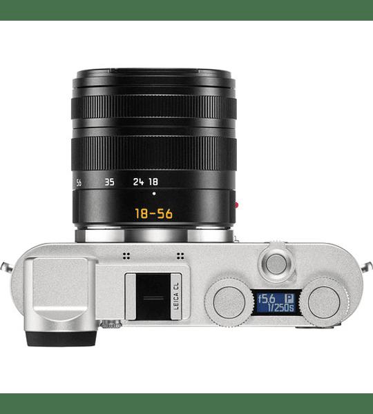 Leica CL Mirrorless con lente de 18-56 mm (Silver anodizado)