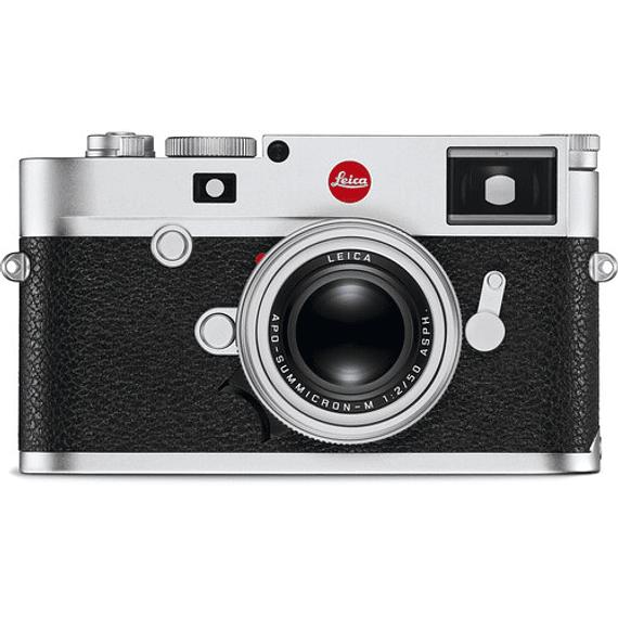 Leica M10-R Digital Rangefinder (Silver Chrome)