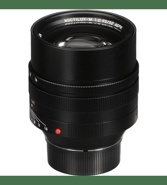 Leica Noctilux-M 50mm f/0.95 ASPH. (Silver o Black)