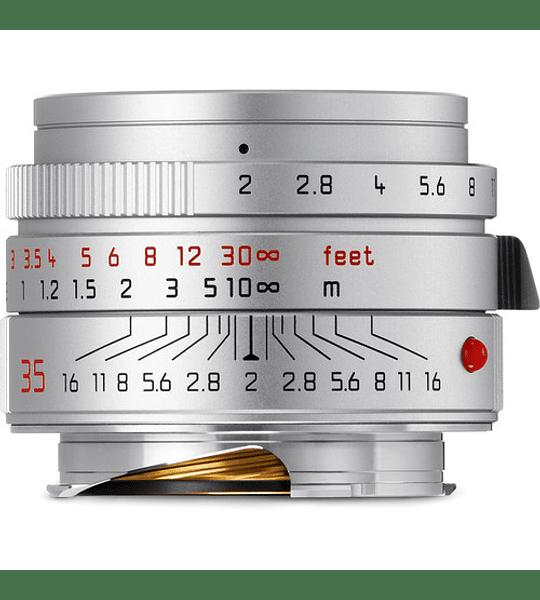 Leica Summicron-M 35mm f/2 ASPH Silver