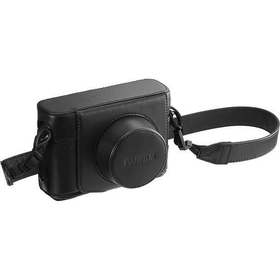Fujifilm ESTUCHE X-100F CUERO LC-X100F FUJI NEGRO