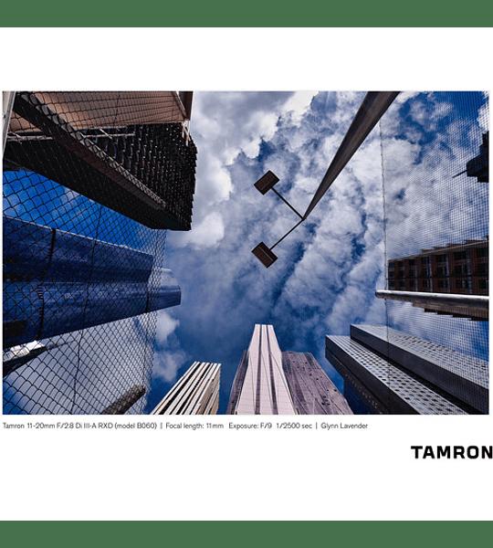Tamron 11-20mm f/2.8 Di III-A RXD [Preventa 30 Julio]