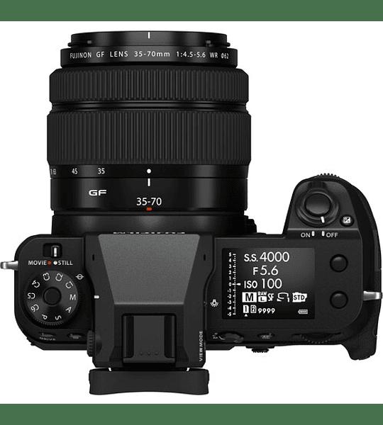 FUJIFILM GFX 50S II Mirrorless Formato Medio kiT (+ 35-70 mm) (Preventa 🔥)