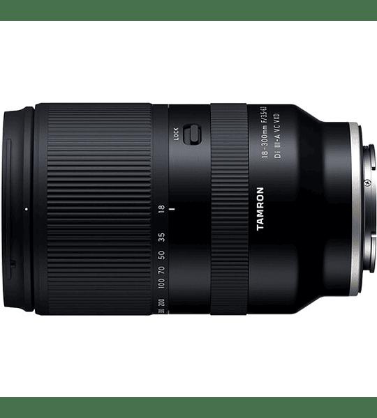 Tamron 18-300mm f/3.5-6.3 Di III-A VC VXD Lente para Sony E