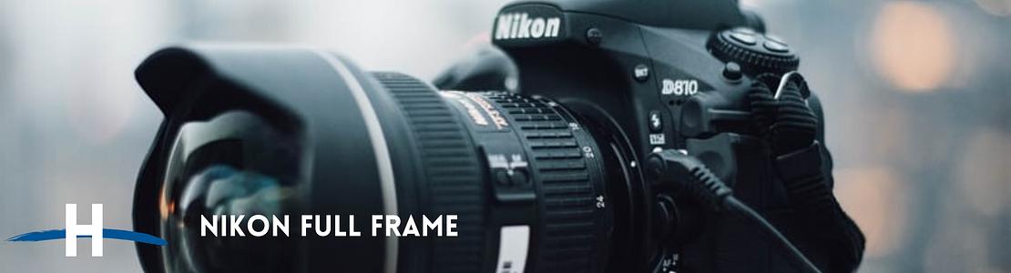 Cámaras Nikon Full Frame