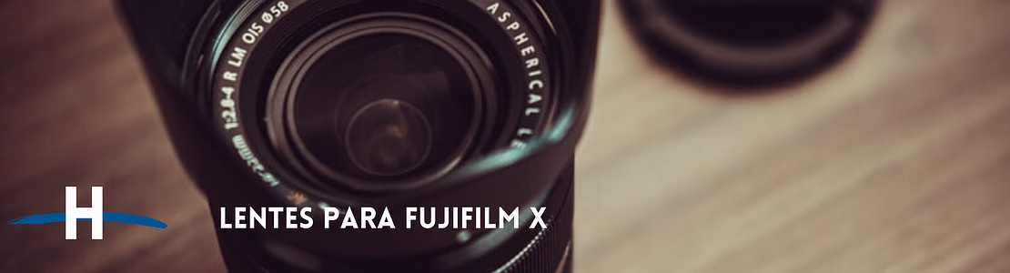 Lentes Fujifilm X