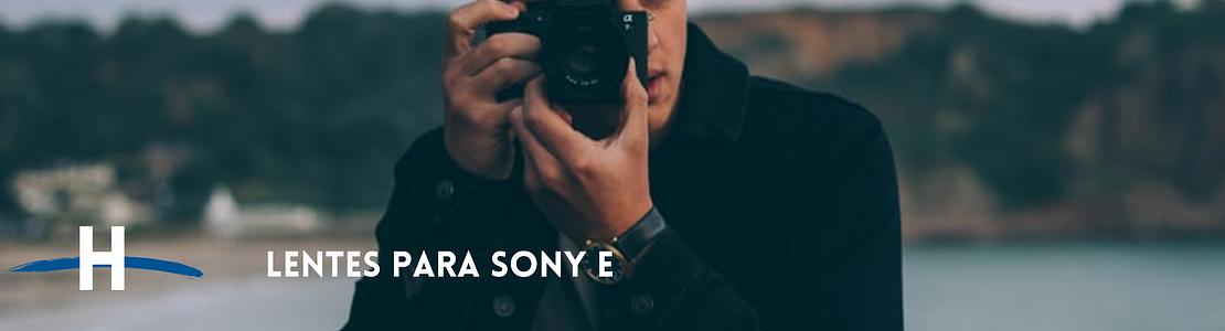 Lentes Sony E APS-C