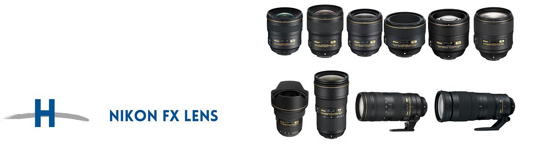 Lentes Nikon FX