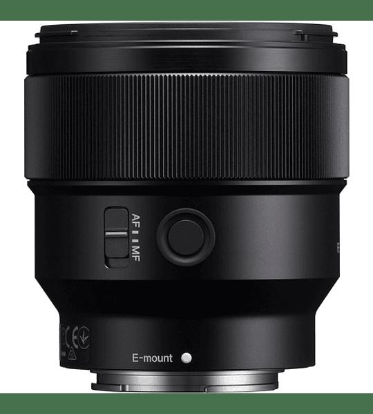 Sony 85mm f1.8 FE