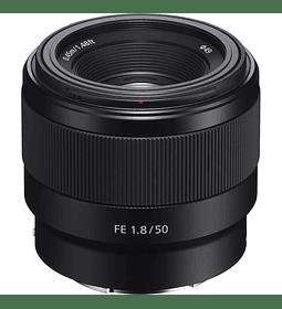 Sony 50mm f1.8 FE