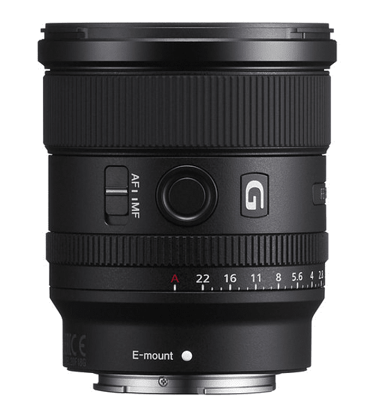 Sony G 20mm f1.8 FE