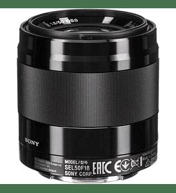 Sony 50mm f1.8 OSS E