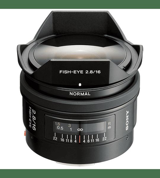 Sony A 16mm f2.8 Fish Eye