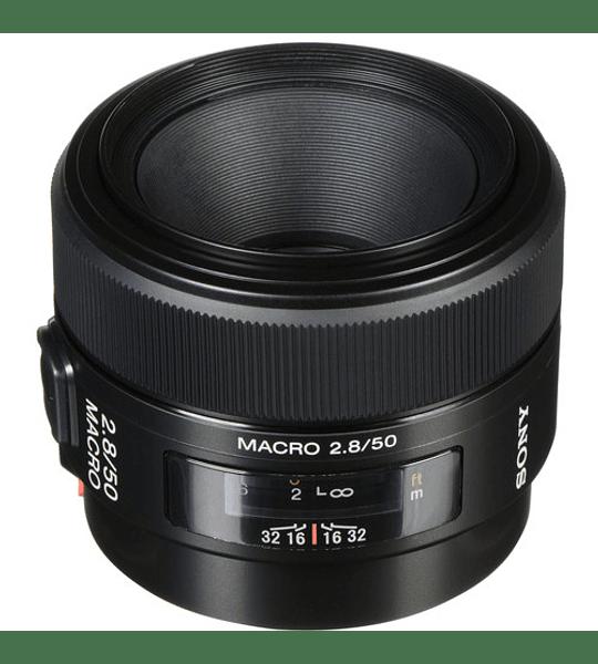 Sony A 50mm f2.8 Macro