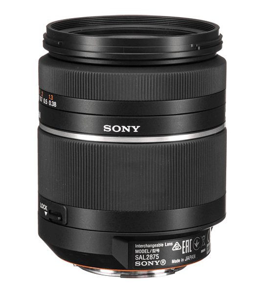Sony A 28-75mm f2.8