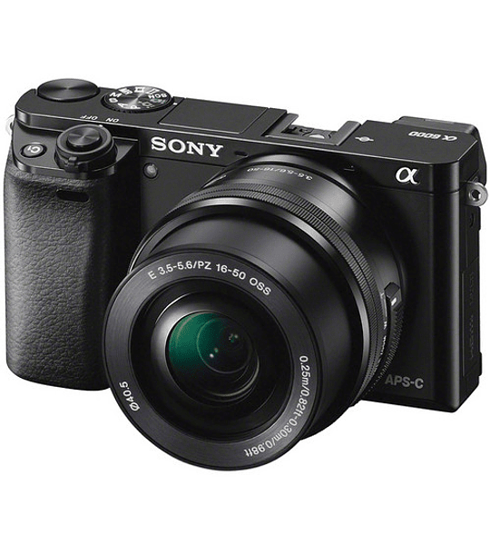 Sony a6000 con montura E