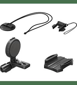 Montura lateral de casco para Action Cam