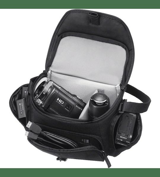 Funda de transporte blanda para Sony Handycam® LCS-U5