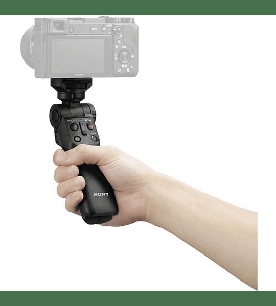 Empuñadura para grabación con control remoto inalámbrico  GP-VPT2BT
