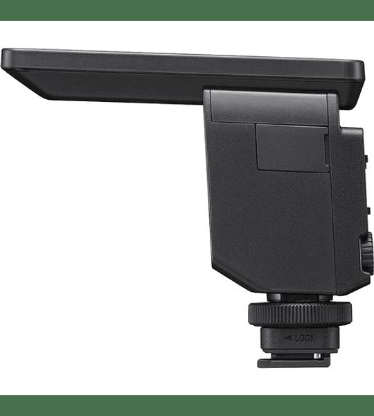 Microfono de zapata direccional de calidad profesional Sony