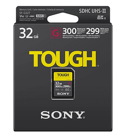 Sony Tough SD G UHS-II 32GB