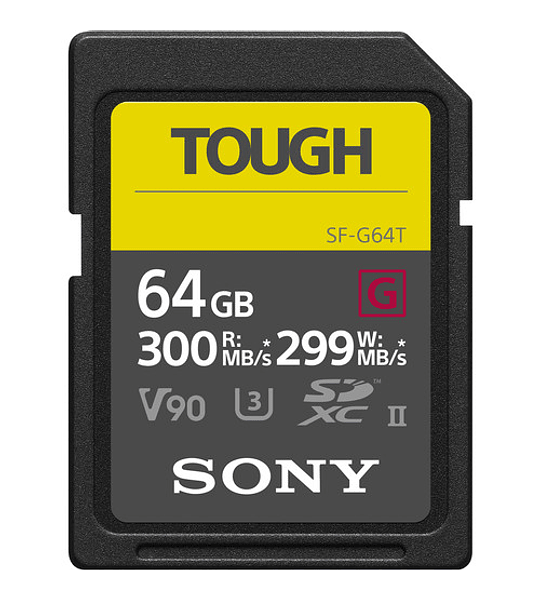 Sony Tough SD G UHS-II 64GB