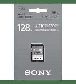 Tarjeta de memoria SD UHS-II Serie SF-E 128GB