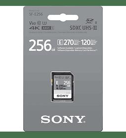 Tarjeta de memoria SD UHS-II Serie SF-E 256GB