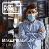 Mascarilla 3 pliegues - Cartón