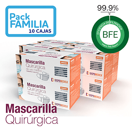 Mascarilla Quirúrgica - 10 cajas