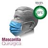 Mascarilla Quirúrgica - CARTÓN
