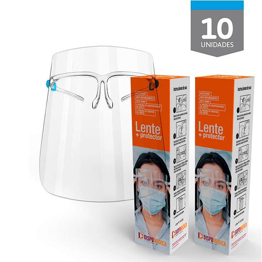 Lente + Protector - 10 unidades