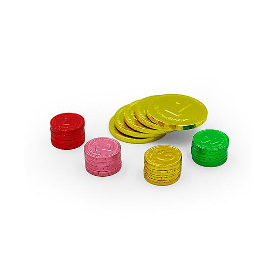 Pack 21 Moneditas de Chocolate