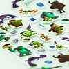 Stickers Puff Monster University