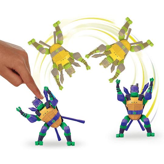 Tortuga Ninja Figura Lujo / Donatello / 15 cms.