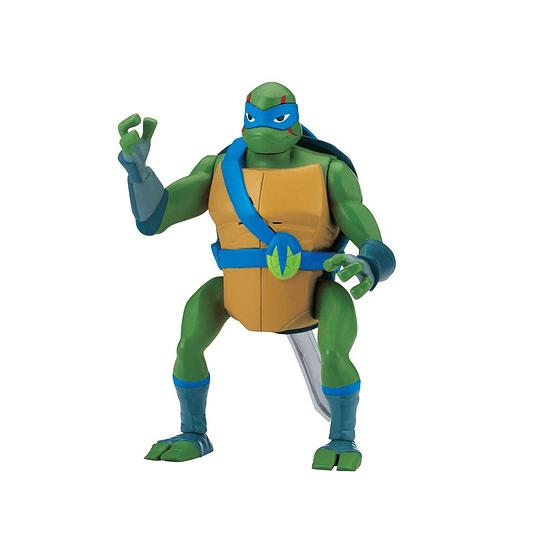 Tortuga Ninja Figura Lujo / Leonardo / 15 cms.